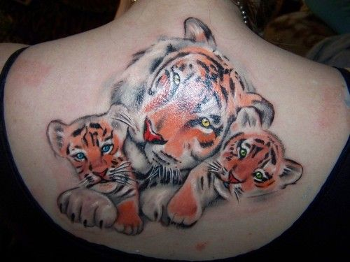 Mamma Tiger And Cubs Tattoo Picture At Checkoutmyink Com Cubs Tattoo Tiger Tattoo Tattoos