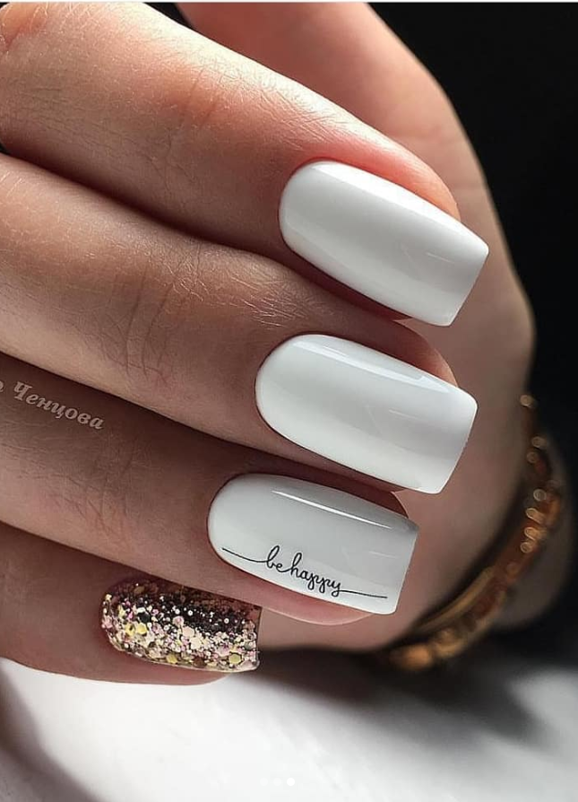 30 Amazing Natural Summer Square Nails Design For Short