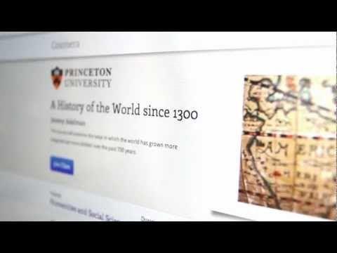 Coursera è un progetto educativo che mette a disposizione di qualsiasi utente Internet la possibilità di apprendere online, attraverso corsi gratuiti offerti dalle migliori università americane (Princeton, Stanford, Michigan, Penn, Berkeley).