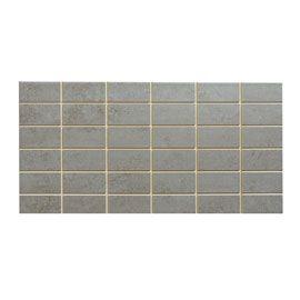 Carrelage Mural Gris Nova Pre Coupe 20 X 40 Cm Mosaic Tiles