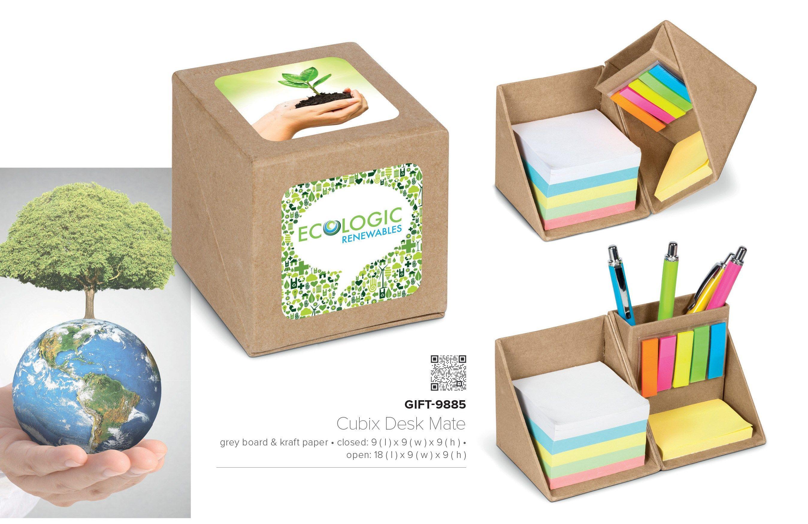 Eco Friendly Memo Set And Pen Holder