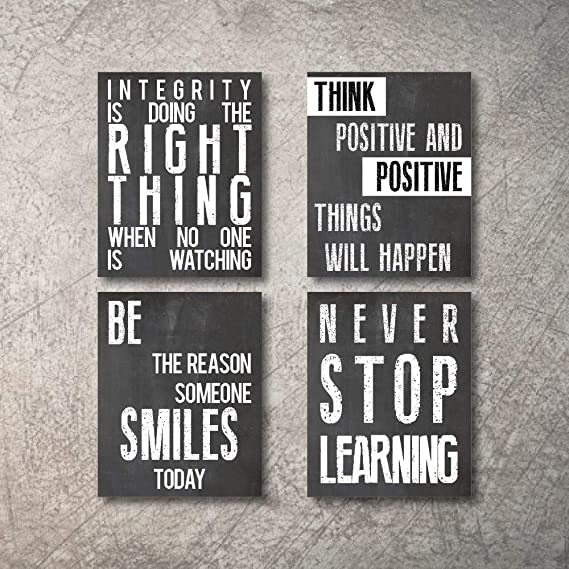 Amazon Com Inspirational Wall Art Poster Prints Quote Positive Affirmation Motivational Wall Art In 2020 Wall Art Quotes Inspirational Wall Art Motivational Wall Art
