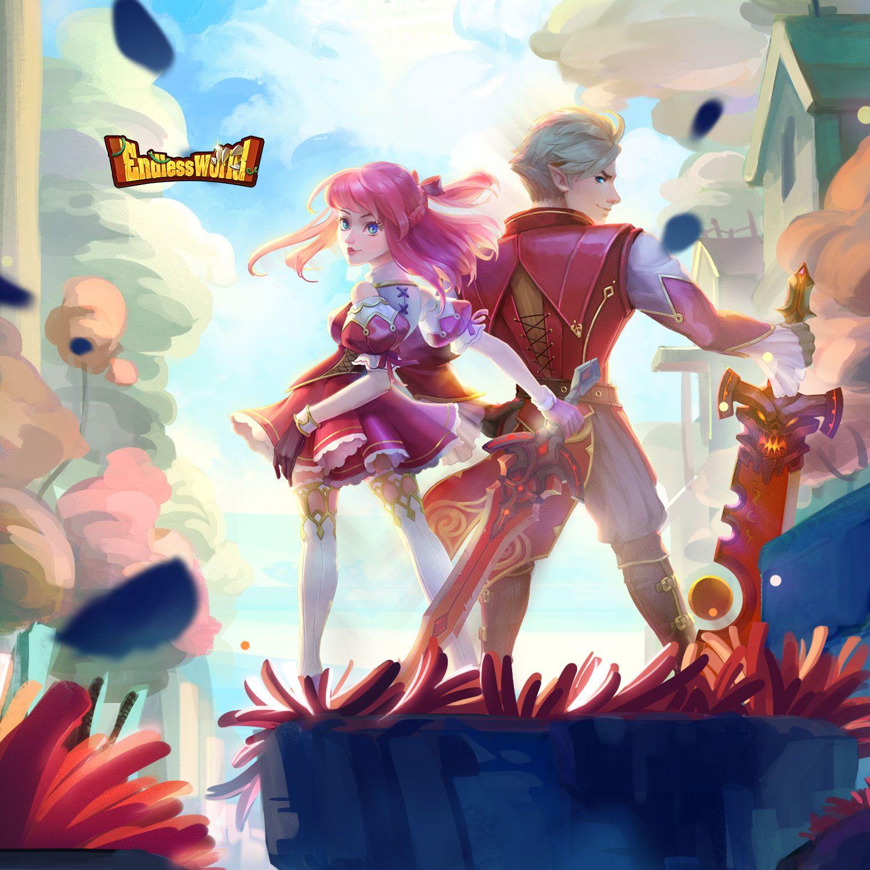 Endless World Idle RPG Rpg, Anime, World
