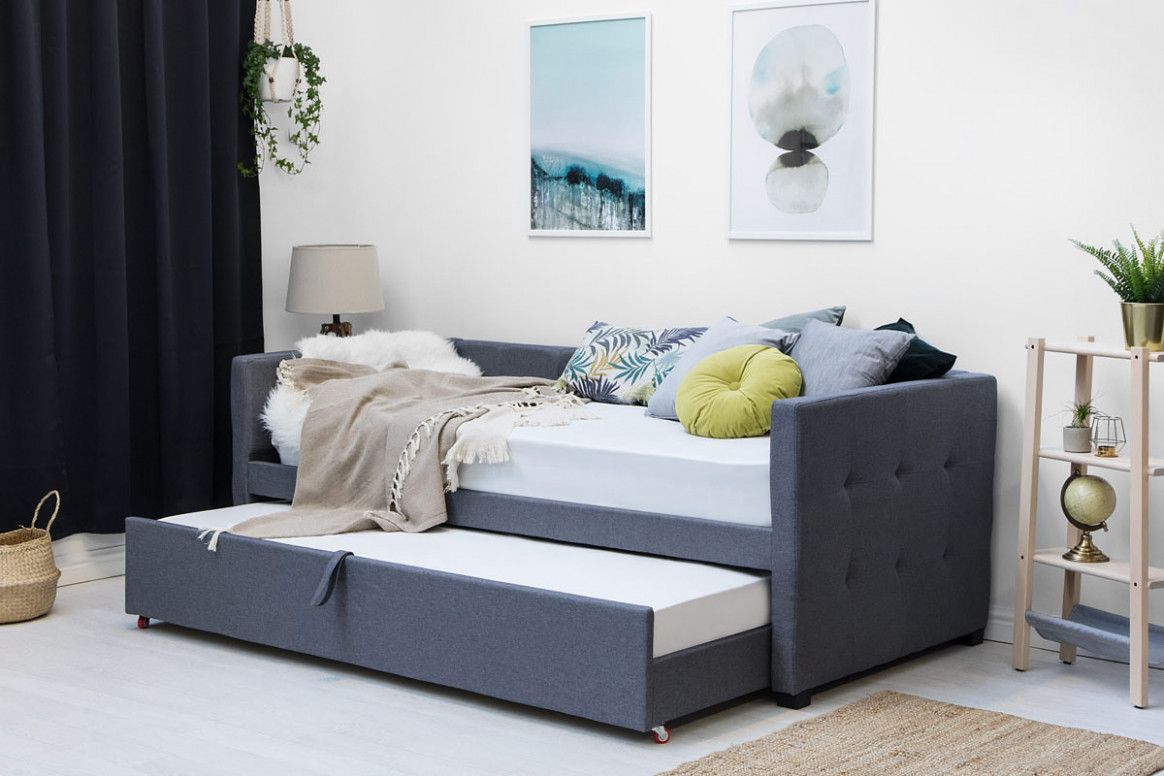 Wonderful Single Bed With Guest In 2020 Bed Frame With Mattress