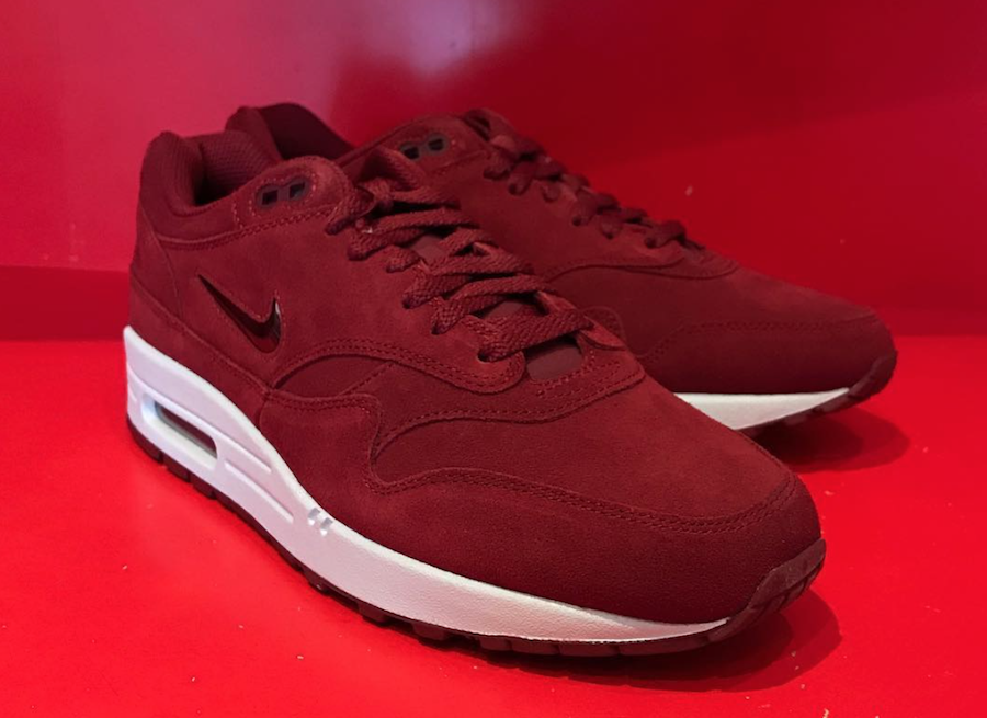 Nike Air Max Daim 1 Bijou Pompes Rouges