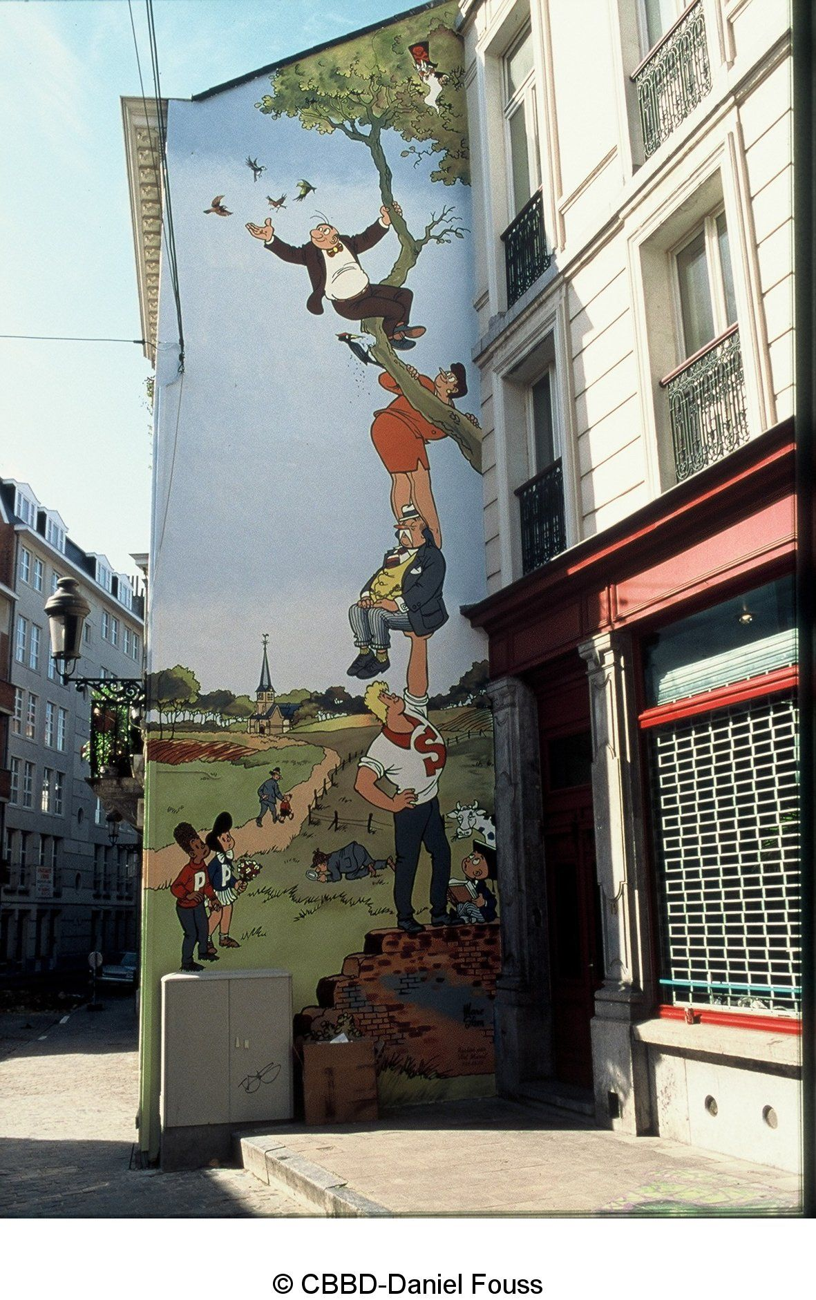 8f7a3f1900 Visit Belgium Comic Strip Walk in Brussels | Places to Go, Stuff to ...
