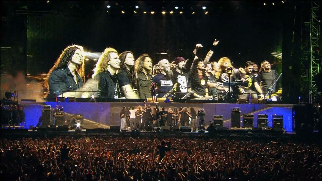 Resultado de imagen de Big Four Metallica, Slayer, Megadeth, Anthrax Documental Subtitulado