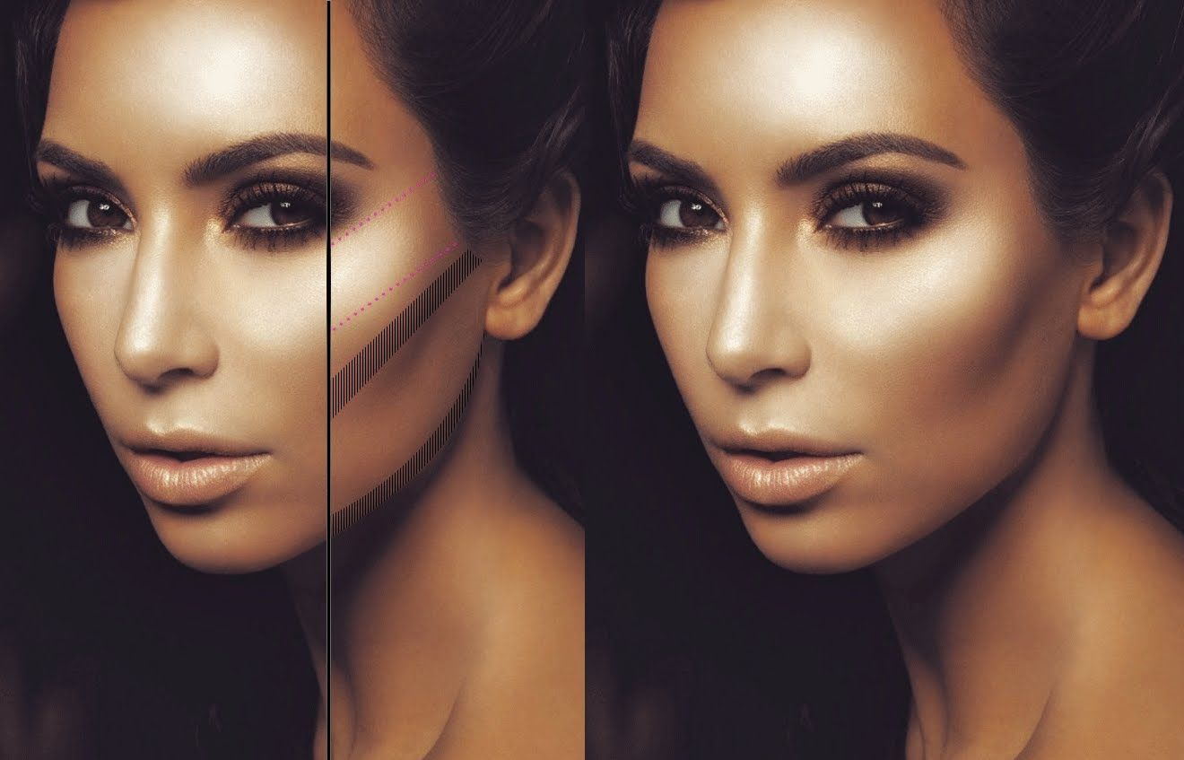Exposed kim kardashian and the magic line mac pinterest all these videos are amazing he explains a technique and shows how to do it better than any lady at the makeup counter ever could baditri Image collections