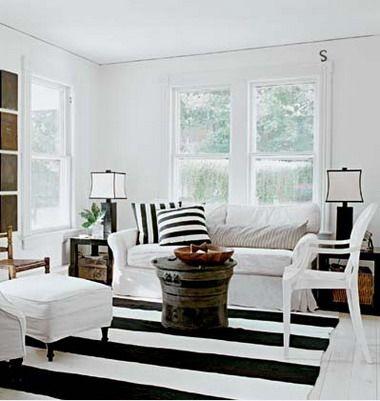 Living blanco negro deco pinterest blanco negro blanco y negro living blanco negro urtaz Images