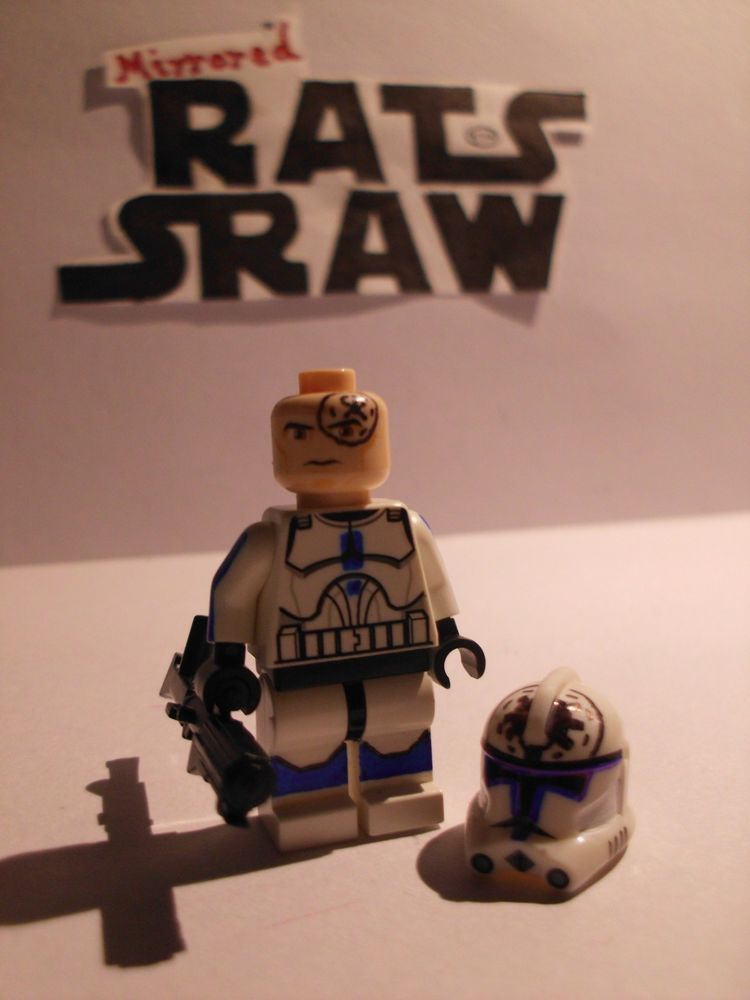 501st Helmets SPECIAL Clone Custom Troopers Lego Star Wars minifigures