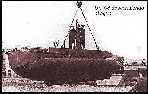 minisubmarinos alemanes -