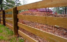 Board And Post Fence Installer Farm Fence Rustic Fence Fence Design