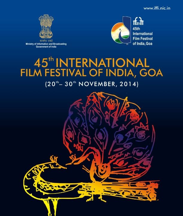 The 45th annual International #Film Festival of India will held in Goa 20th - 30th Nov 2014.  #IFFI 2014 is conducted jointly by the Ministry of Information and Broadcasting, Directorate of Film Festivals and the government of Goa.