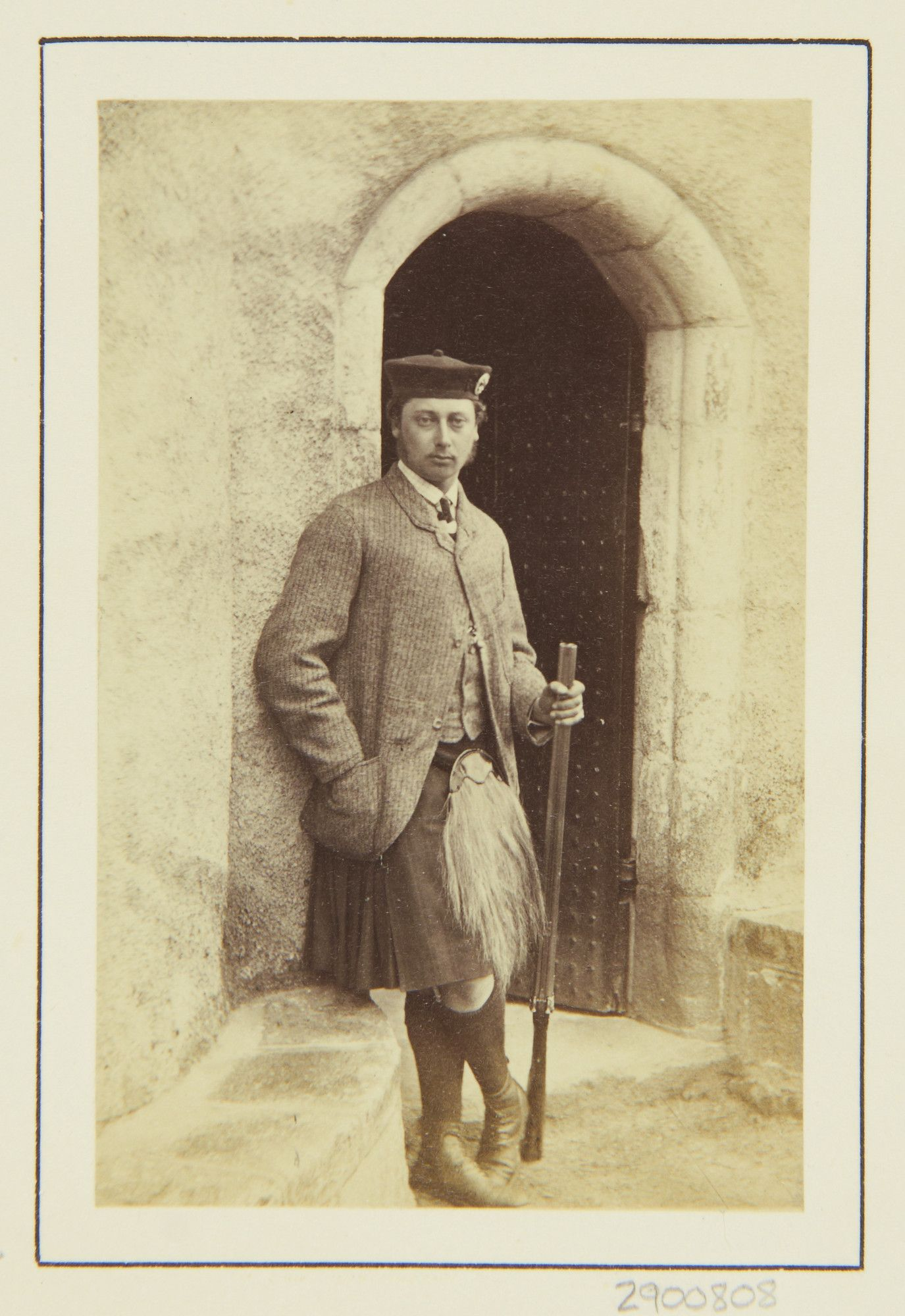 The Prince of Wales, Abergeldie 1863 [in Portraits of Royal Children Vol.7 1863-1864] | Royal Collection Trust