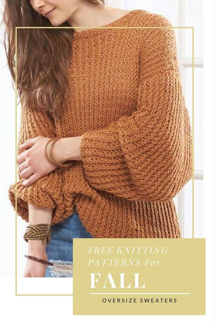 8 stylish ideas for your fall oversized knits sweater knitting 8 stylish ideas for your fall oversized knits sweater knitting patternsfree bankloansurffo Choice Image