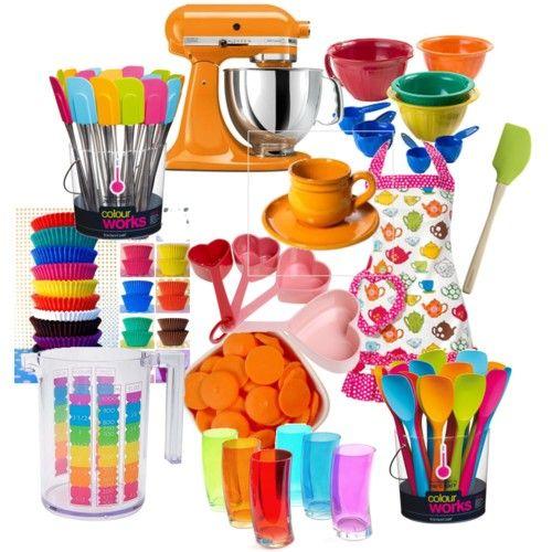 Rainbow Kitchen Decor: My Rainbow Kitchen!