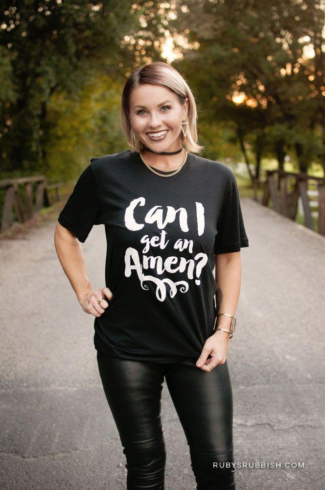 Mens t shirt AMEN Christian T Shirts lWvuG5tU6v