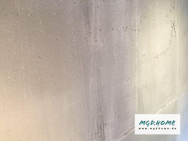 Beton optik sichtbeton putz loft design wandgestaltung wände in