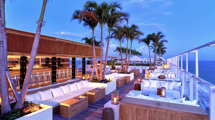 The 1 Rooftop Take Cocktail Hour To The Next Level At Our Favorite Sky High Beach Bars Where Refreshing Drin Best Rooftop Bars Grand Beach Hotel Rooftop Bar
