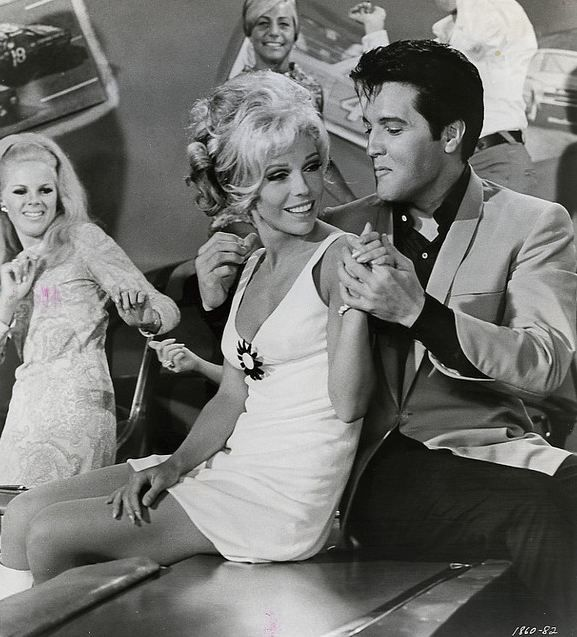 the60sbazaar nancy sinatra and elvis presley in the