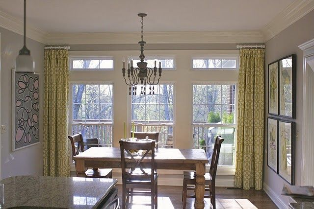 Short Curtain Rods Ideas Pictures