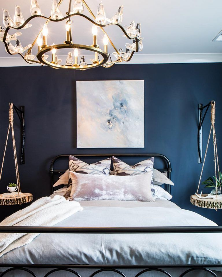 Benjamin Moore Hale Navy Bedroom Paint Hale Navy Navy Bedrooms Bedroom Decor