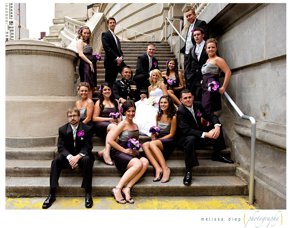 Casual Wedding Party Poses - love them. - Melissa Diep Photography