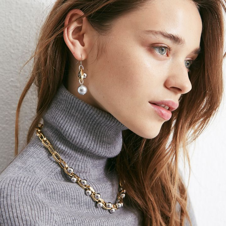 Joomi Lim ジューミ リム メタルボール チェーン ネックレス Metallic Chain Necklace On Shopstyle チェーンネックレス ネックレス チェーン