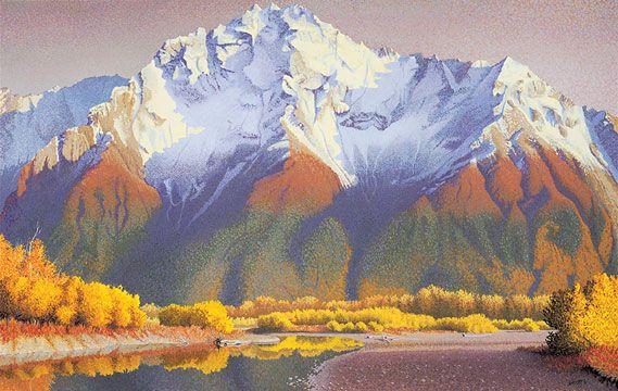 Acrylic Landscape Oil Painting Techniques Step By Step Oil Painting Landscape Mountain Painting Acrylic Mountain Paintings