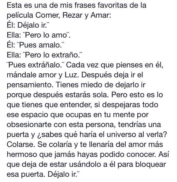 Eat Pray Love Comer Rezar Amar Frases Amar Frases Y