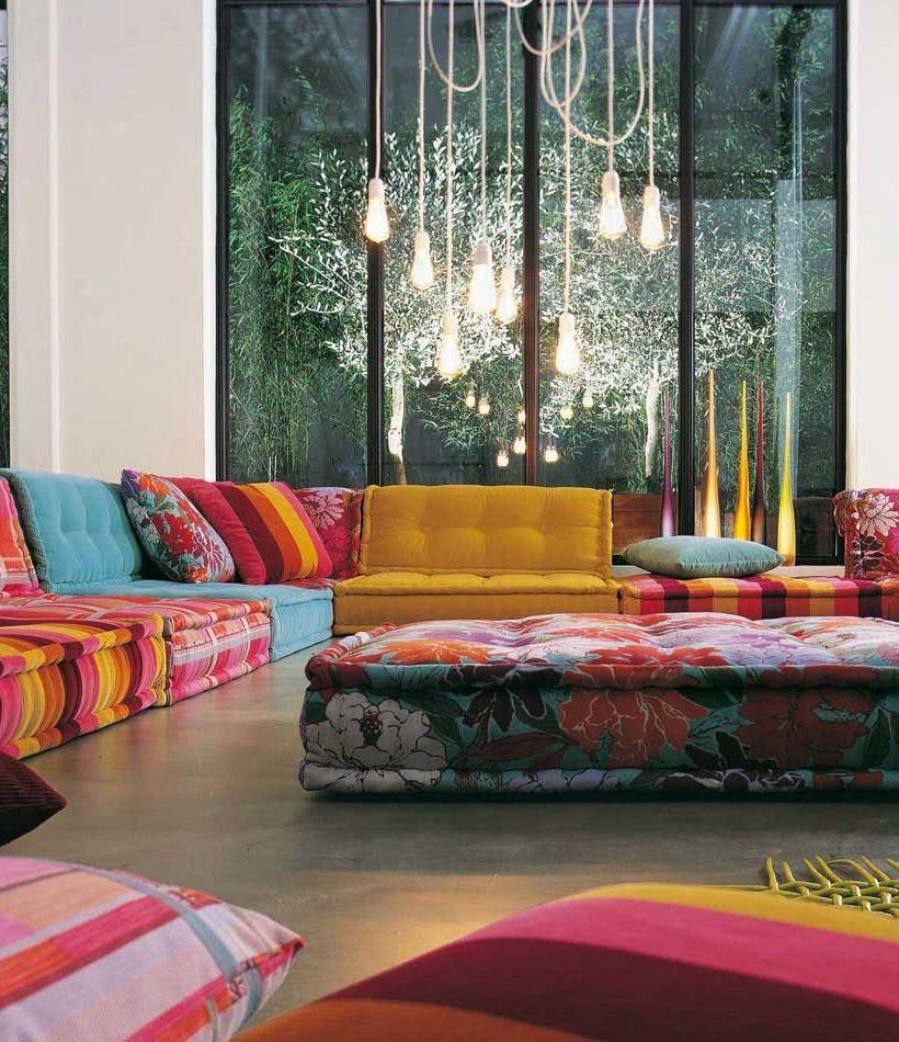 Missoni Home Sofa Gravita Passiflora Giant: Good Questions: Mah Jong Clone?