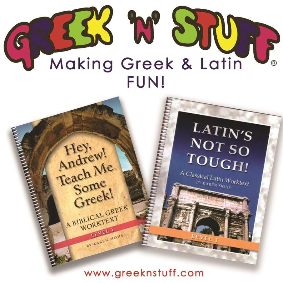 Workbooks workbook in spanish three years : Hey, Andrew! Teach Me Some Greek! and Latin's Not So Tough ...