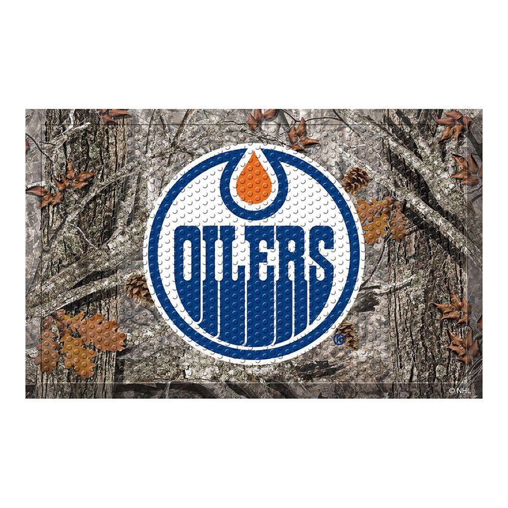 Edmonton Oilers Scraper Doormat (19x30)