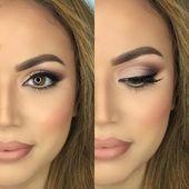 25 + › Nackte Hochzeit Braut Make-up Inspiration – Pinspace – Hochzeit  25   N…