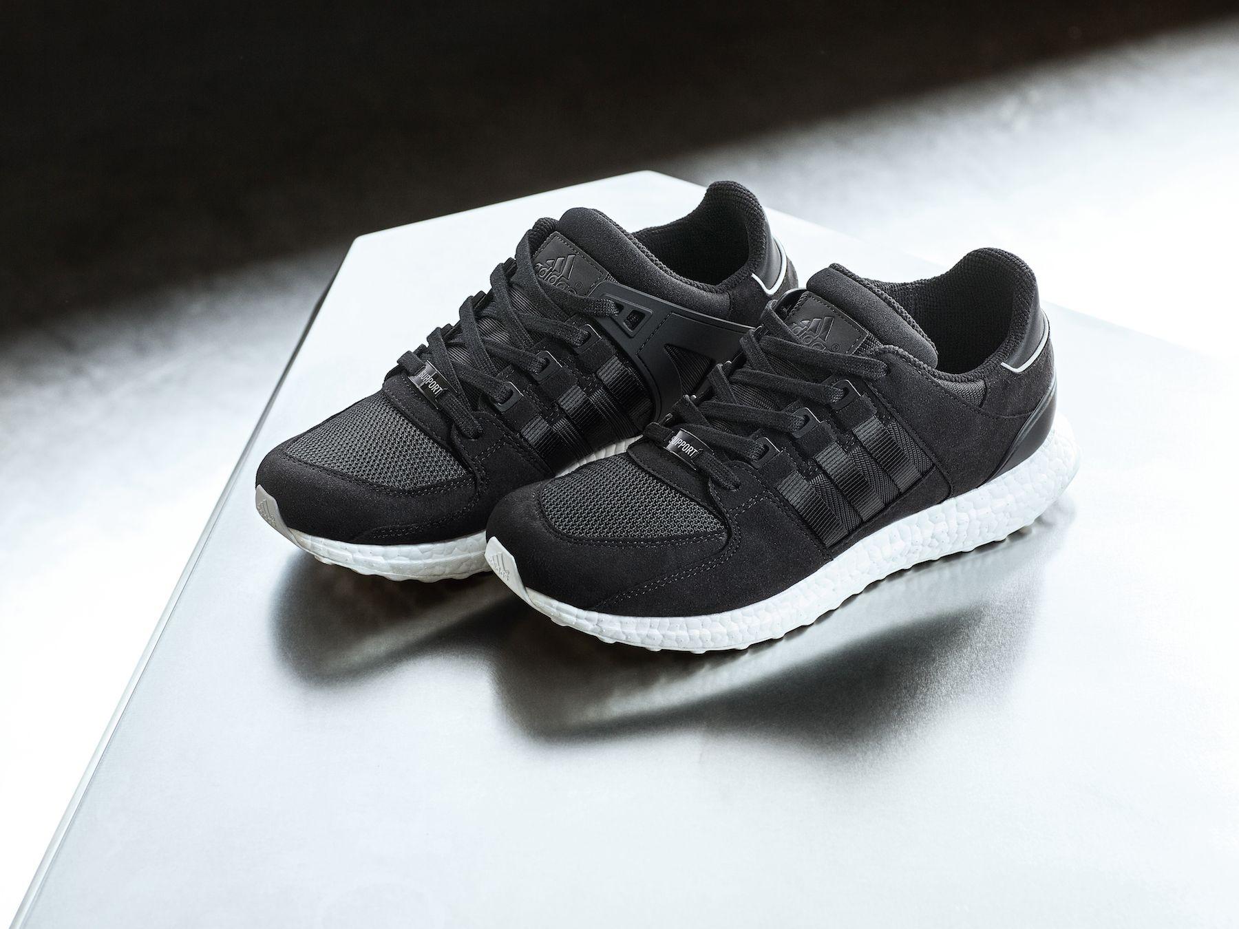 adidas schwarze laufschuhe