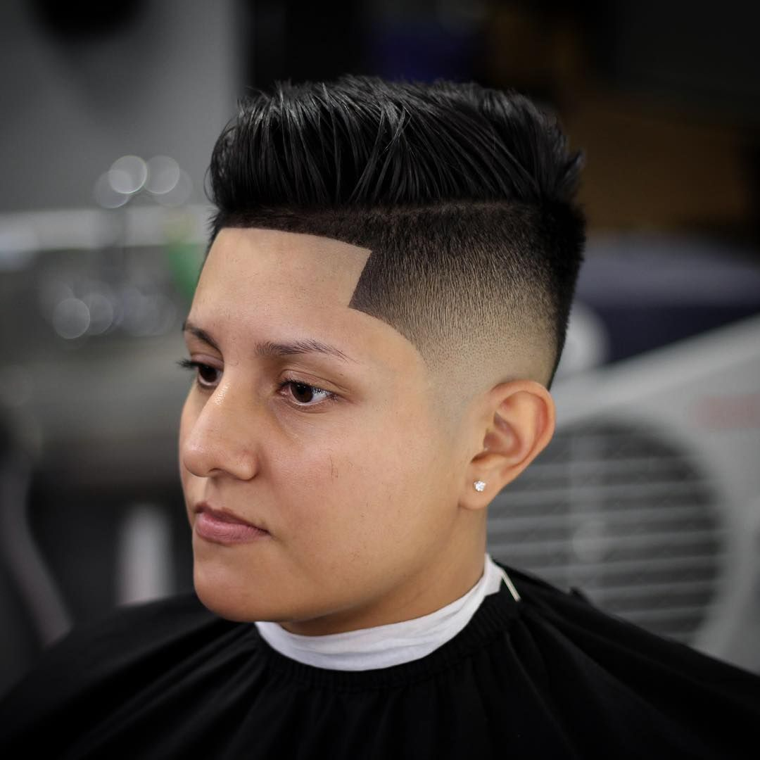 Mid Fade Line Up Haircuts For Round Face Hairstyles For Heart