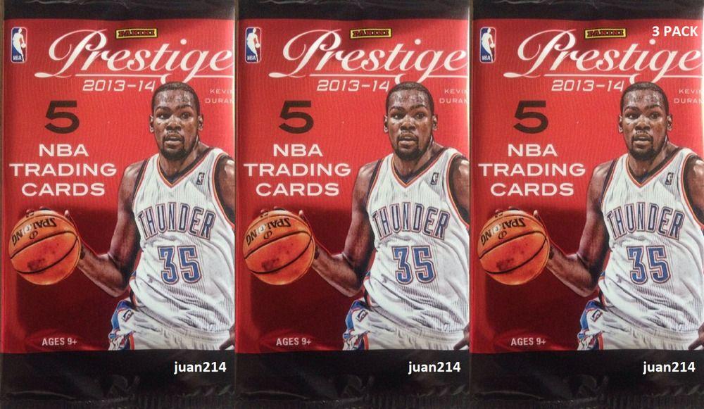 2013 2014 panini prestige basketball three 5 card