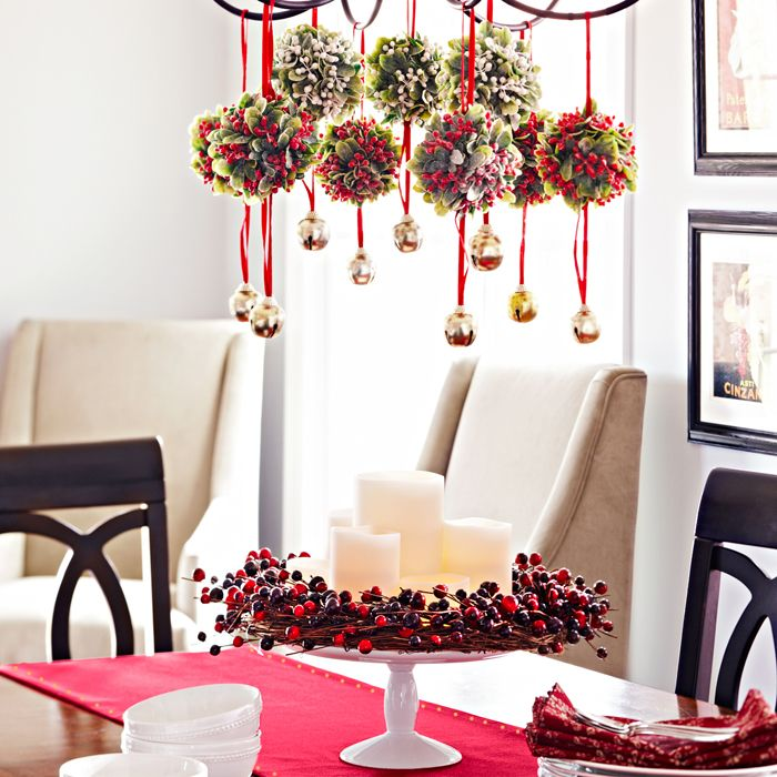 dining room xmas decorations | design ideas 2017-2018 | Pinterest ...