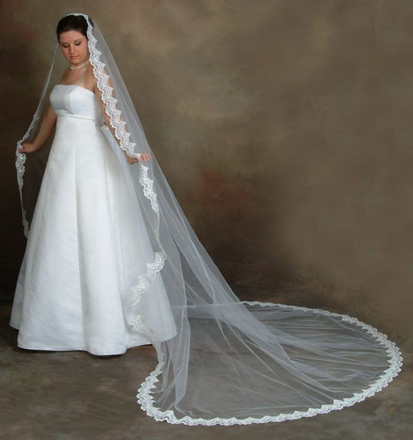 Decisions There Are So Many Bridal Veil Styles To Choose From