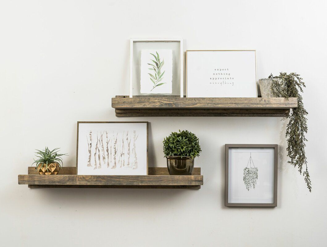 Photo of Tishie Floating Shelf 2 Piece Set