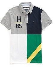 a97488b3 Shop for Men's Custom Fit Pieced Polo by Tommy Hilfiger at ShopStyle.