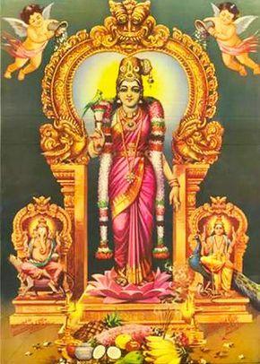 Hindu Goddess Madurai Meenakshi Amman Hindu Art God Art Hindu Deities
