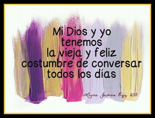 ... nuestra conversación ♥
