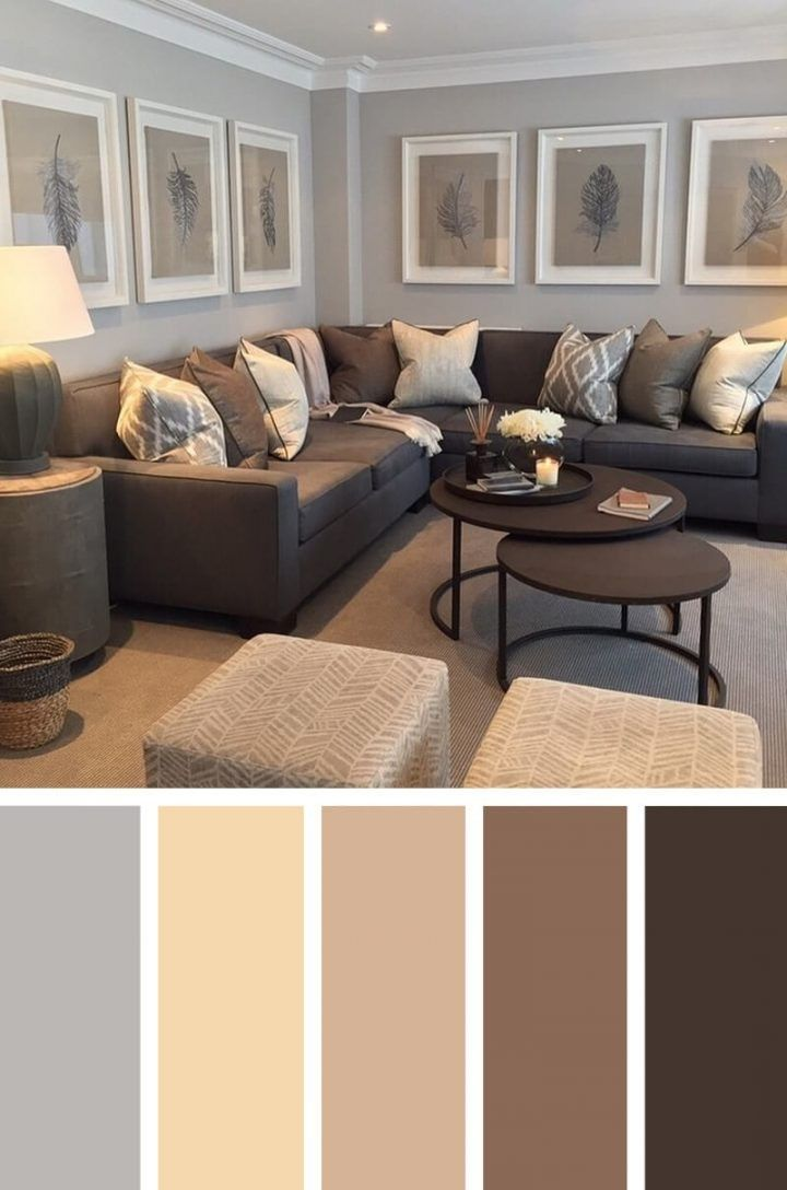 The Biggest Contribution Of Most Popular Living Room Colors #livingroomcolorschemeideas