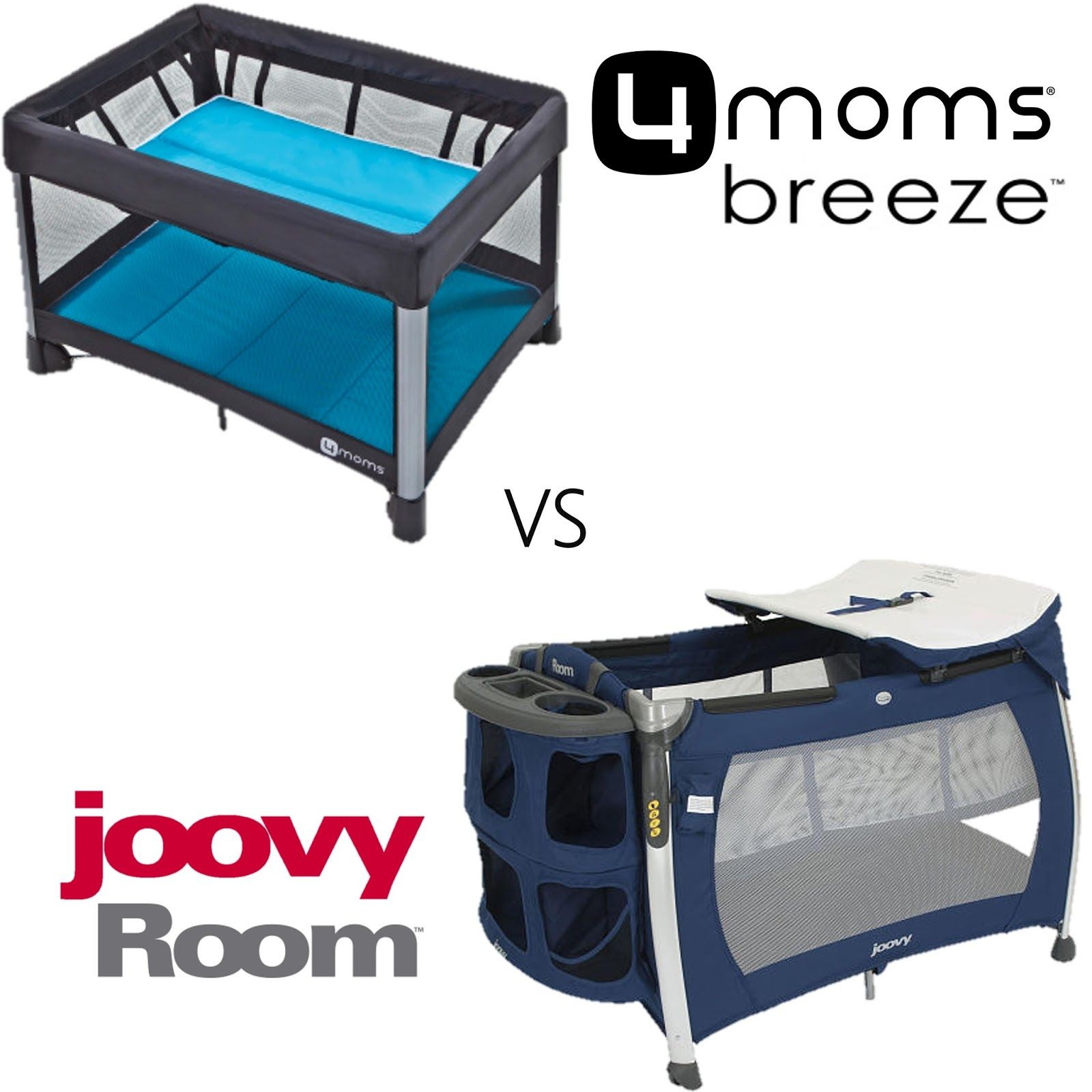 4moms Breeze vs joovy Room Pack n play, Room, Pack, play