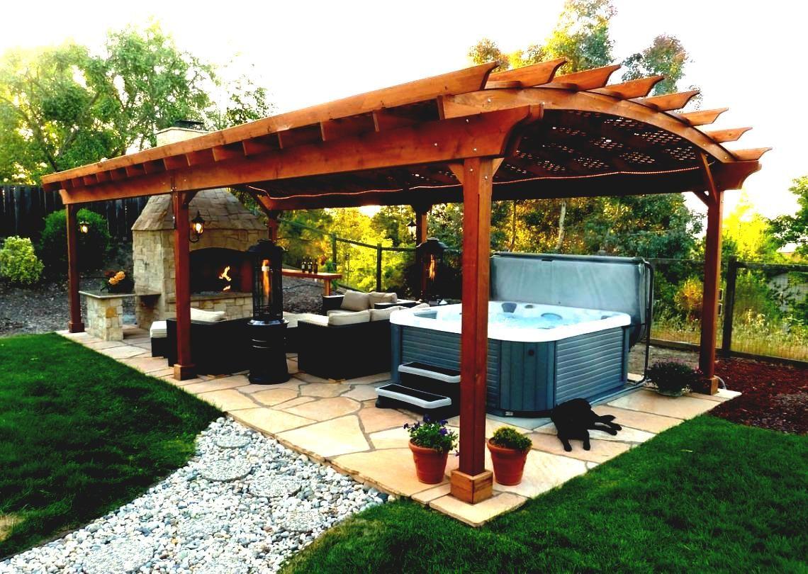 Outdoor Gazebo Designs Landscaping Ideas For Backyard Patio Wooden ...