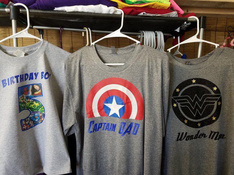 superhero birthday shirts. superhero birthday boy shirt. superhero dad. superhero mom.