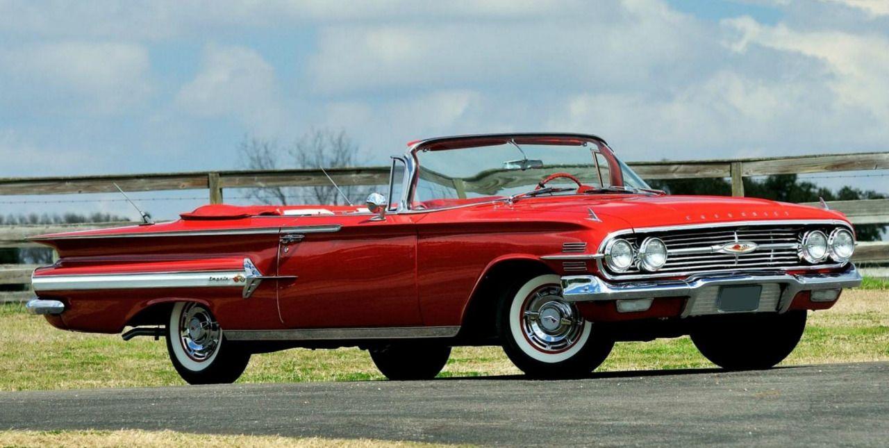 Impala 1960 chevrolet impala ss : 1960 Chevrolet Impala 348 convertible in Roman Red via prova275 ...