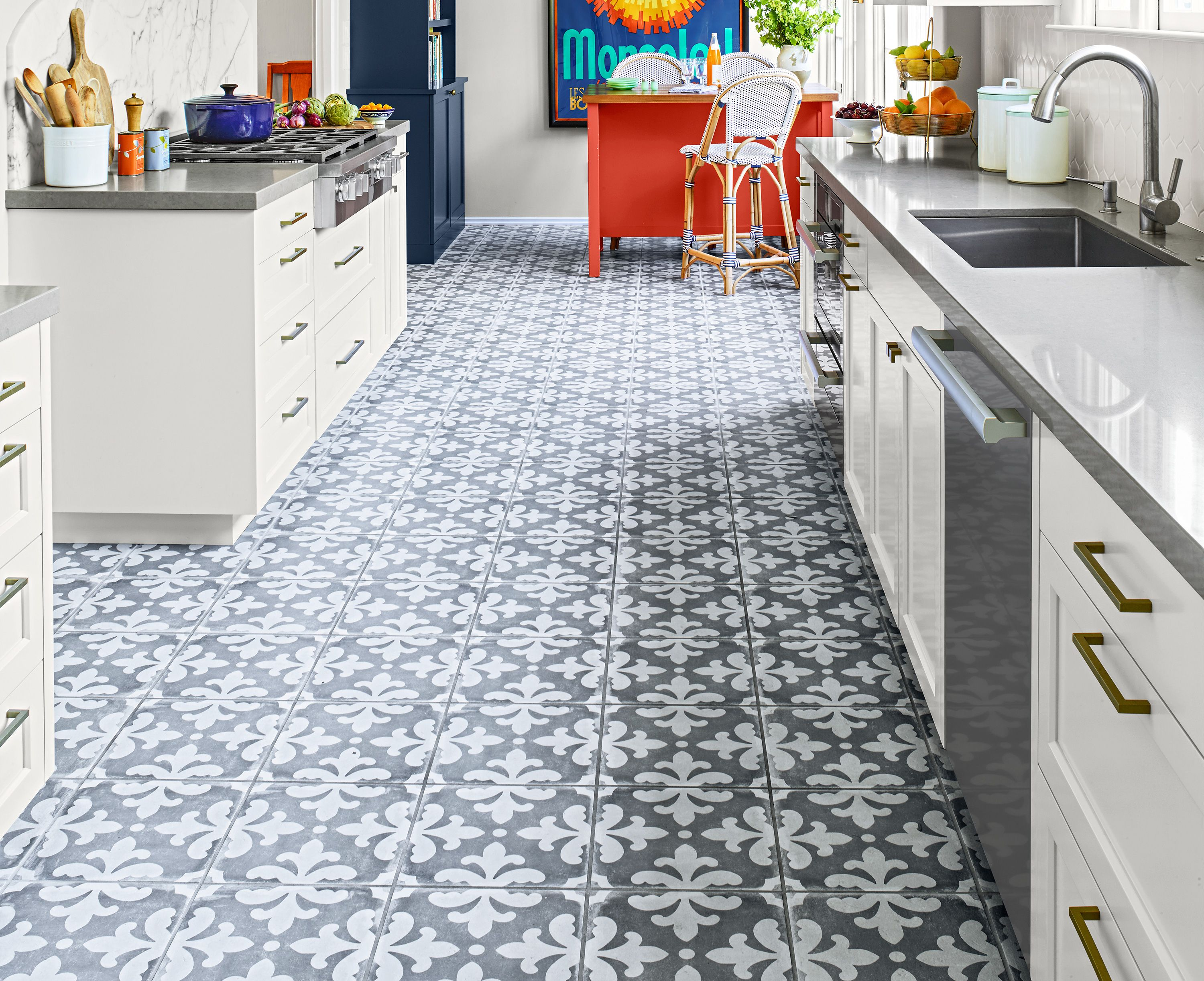 Kitchen Flooring Materials And Ideas This Old House In 2020 Kitchen Flooring Flooring Kitchen Flooring Options
