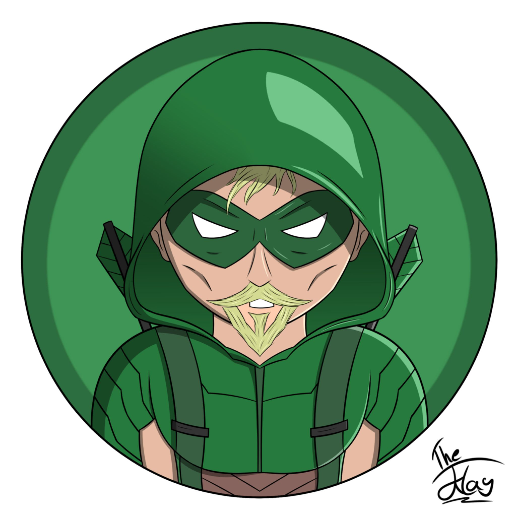 Green Arrow Rebirth Icon by TheJklay on DeviantArt